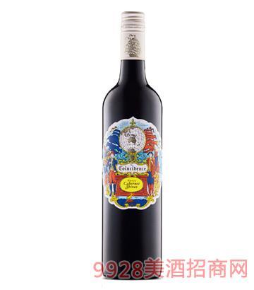 邂逅赤霞珠西拉子干红葡萄酒750ml