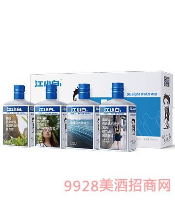 江小白酒45度S125mlx4瓶礼盒装