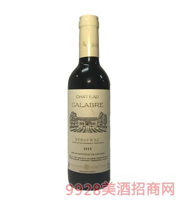 法国之光卡拉博庄园干红葡萄酒13度375ml