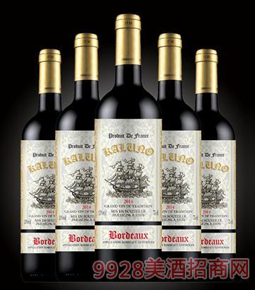 卡隆德进口葡萄酒13度750ml