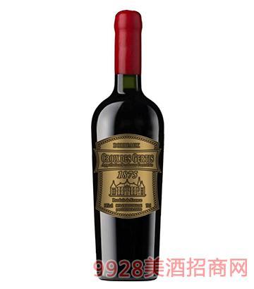 真谛宝春天金标葡萄酒14度750ml