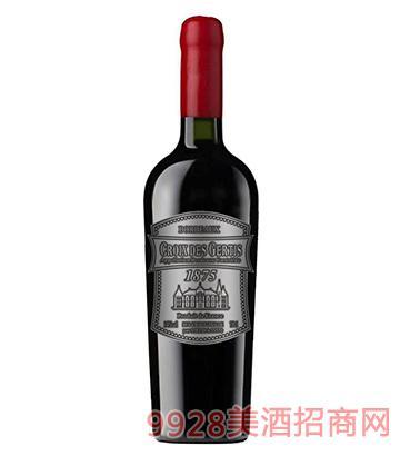 真谛宝春天银标葡萄酒14度750ml