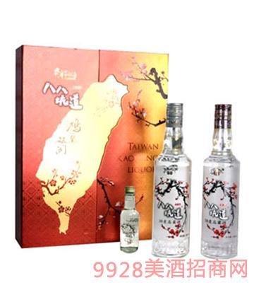 八八坑道鸿运高粱酒双开礼盒58°500ml清香型