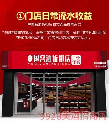 中国名酒折扣店--盈利分析