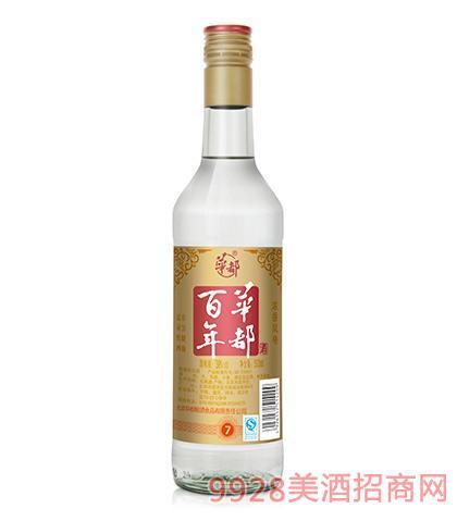 百年华都酒色年华38度500ml浓香型