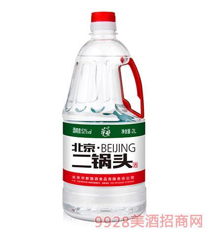 华都酒北京二锅头52度2L清香型