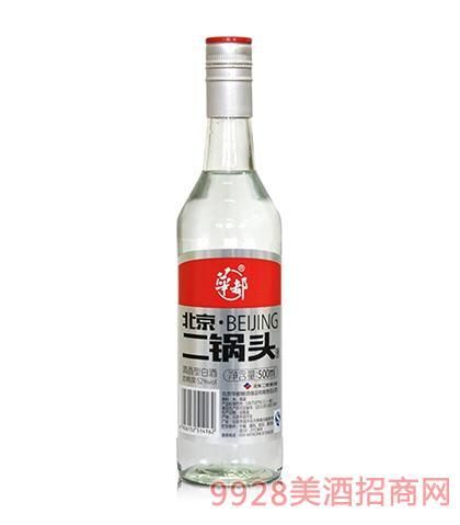 华都酒北京二锅头52度56度500ml清香型