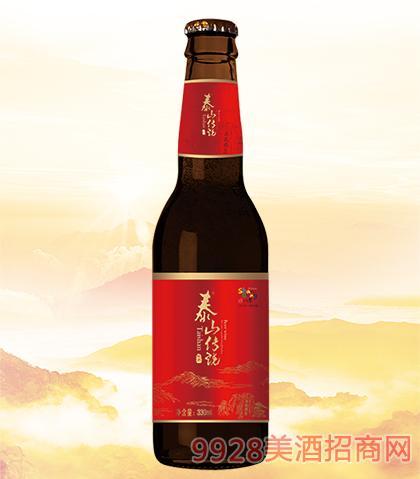 泰山传说啤酒10°p330ml×24(红瓶)_山东青岛青冠啤酒