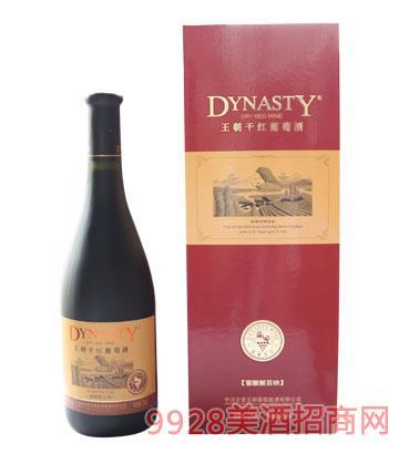 王朝窖酿解百纳干红葡萄酒12度750ml