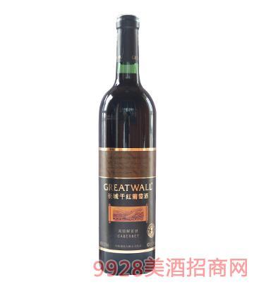 长城窖醇解百纳干红葡萄酒12.5度750ml