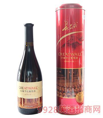 长城醇和橡木桶干红葡萄酒750ml