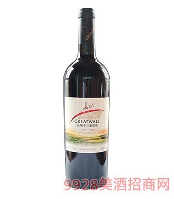 长城醇和赤霞珠干红葡萄酒12.5度750ml