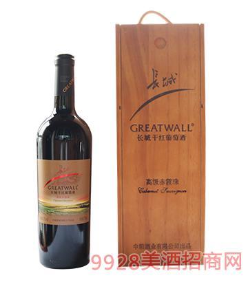 长城赤霞珠干红葡萄酒13度750ml