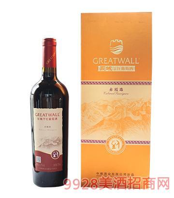 长城赤霞珠干红葡萄酒12.5度750ml