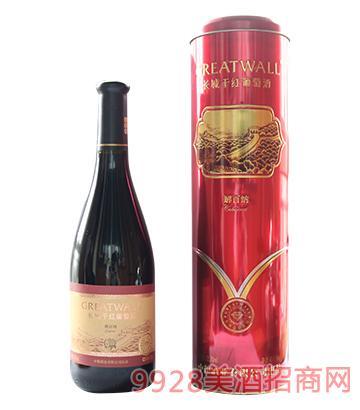 长城解百纳干红葡萄酒12.5度750ml