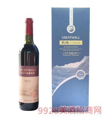 长城优选解百纳干红葡萄酒12.5度750ml