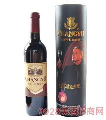 张裕金樽干红葡萄酒12度750ml