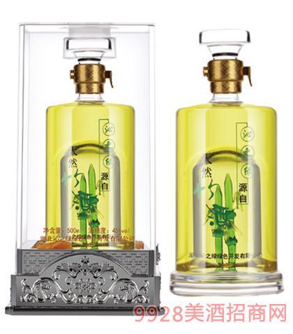 沁之绿原生态养生型竹酒45度