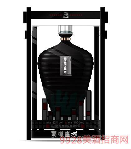 蜀汉皇城酒珍藏封坛52度5000ml