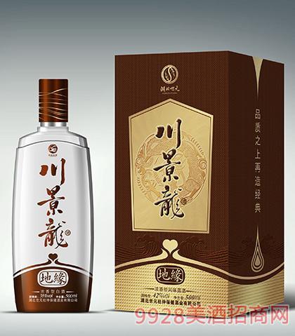 川景龙酒地缘42度500ml浓香型