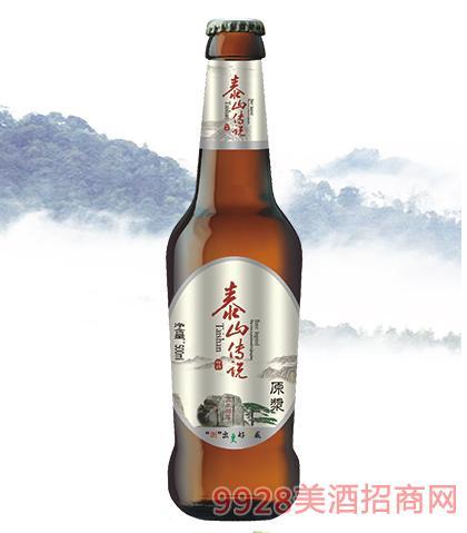泰山传说啤酒500ml瓶装