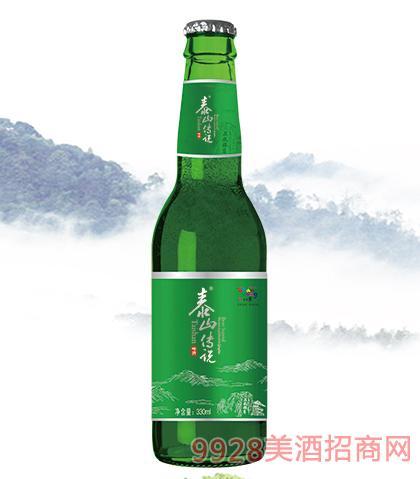 泰山传说啤酒330ml瓶装