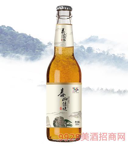 泰山�髡f啤酒330ml瓶�b