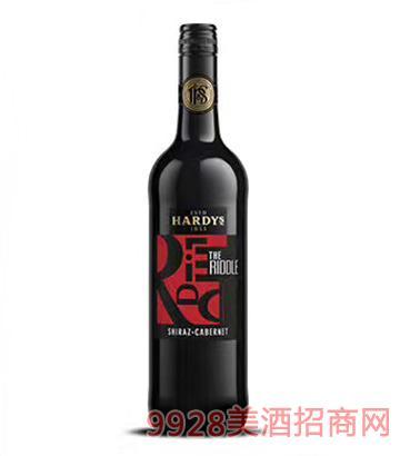 夏迪锐度西卡红葡萄酒12.5度750ml