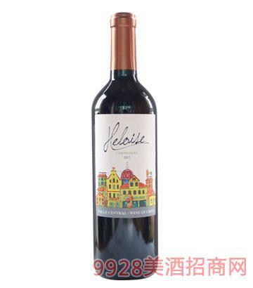 智利海洛伊丝佳美娜红葡萄酒13度750ml