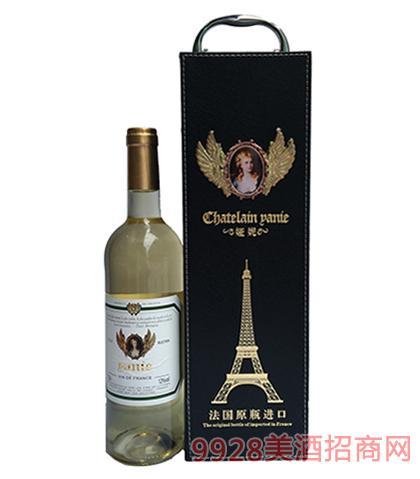 法国原瓶进口娅妮西拉珍藏干红葡萄酒13%vol750ml