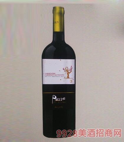 智利相思树3号干红葡萄酒