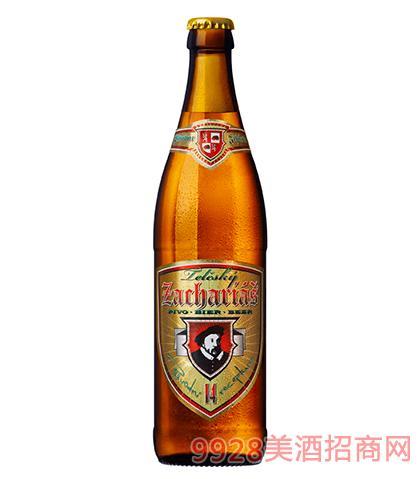捷克伯爵黄啤酒14°P