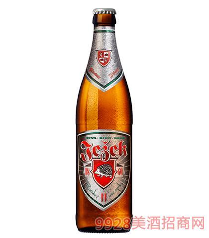 捷克刺猬黄啤酒11°P