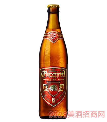 捷克伊赫拉瓦黄啤酒18°P