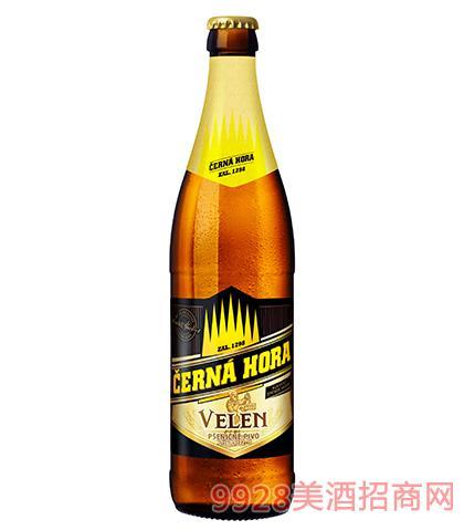 捷克黑山啤酒(白啤)12°P
