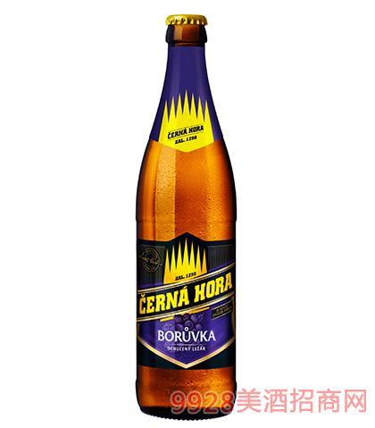 捷克黑山蓝莓啤酒11°P
