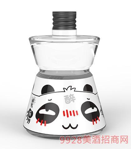 醉熊猫酒微醺国烧酒16度500mlx2
