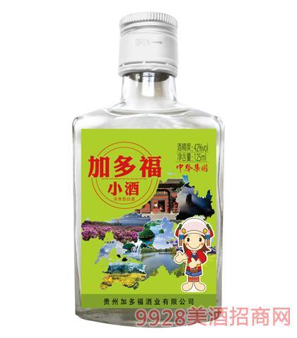 加多福小酒(绿标)42度125ml浓香型