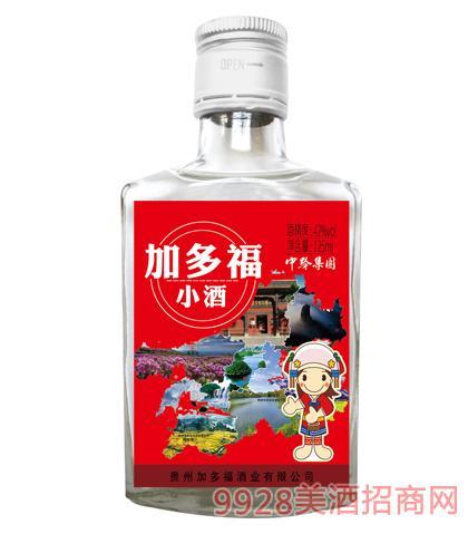 加多福小酒(红标)42度125ml浓香型
