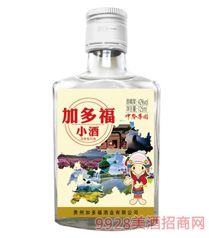 加多福小酒(白标)42度125ml浓香型