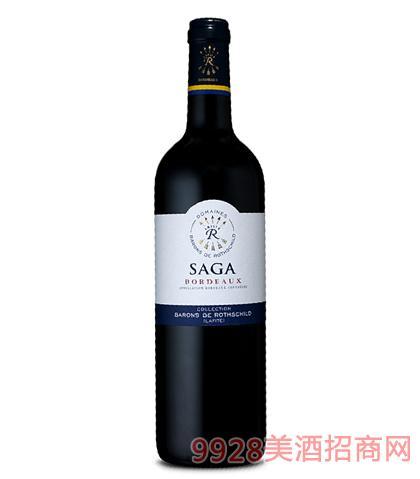 拉菲罗斯柴尔德传说波尔多红葡萄酒12.5%vol