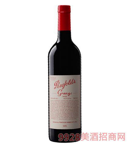 奔富葛兰许葡萄酒14.5%vol