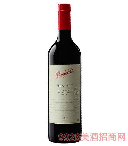 奔富BIN707赤霞珠葡萄酒14.5%vol