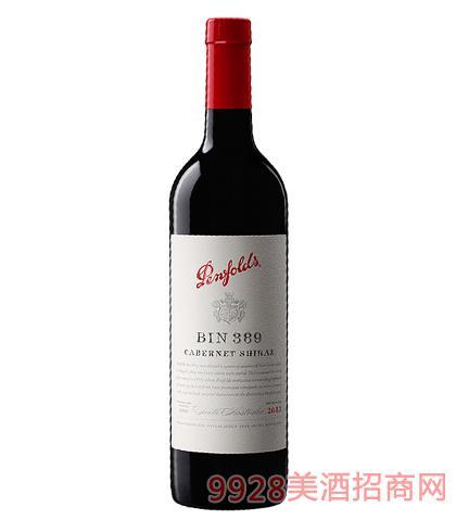 奔富BIN389赤霞珠设拉子葡萄酒14.5%vol