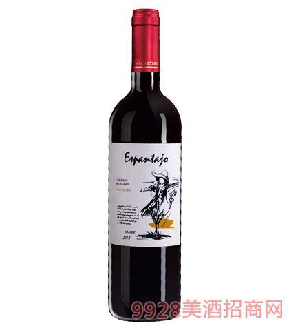 智利稻草人葡萄酒14%vol