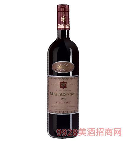 法国马洛桑尼城堡葡萄酒12.5%vol