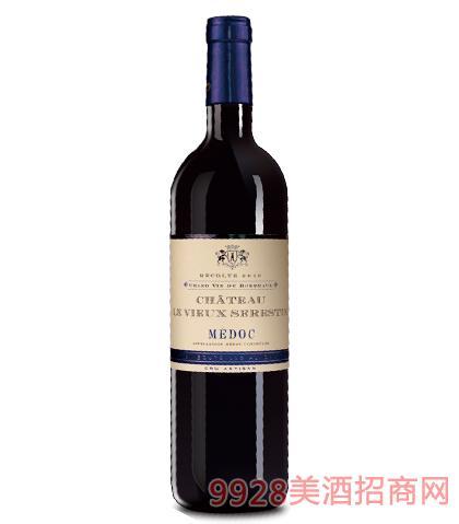 法国唯瑞婷城堡葡萄酒14%vol