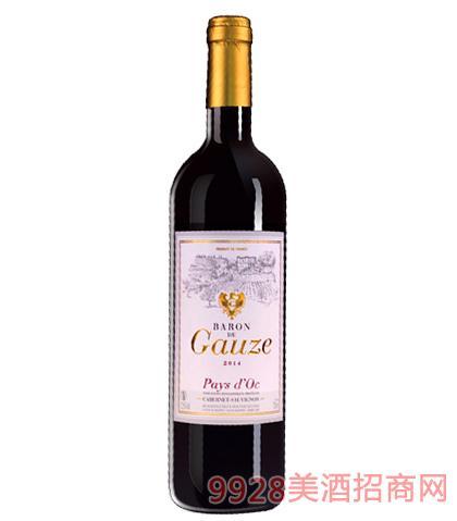 法国巴隆高姿葡萄酒12.5%vol