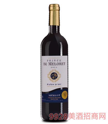 法国梅诺瑞公爵葡萄酒12.5%vol