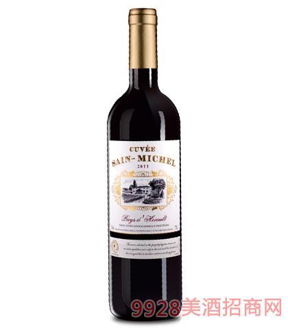 法国圣米歇尔葡萄酒12%vol
